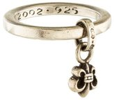 Chrome Hearts Fleur de Lys Band Ring