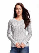 Old Navy Classic Cable-Knit Sweater for Women