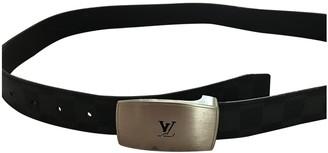 Louis Vuitton Blue Cloth Belts