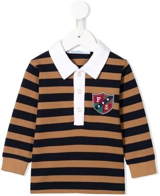 Familiar Striped Polo Shirt