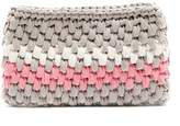 MY BEACHY SIDE Ziggy crocheted clutch