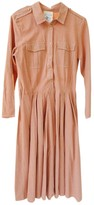 Semi-Couture Semicouture Pink Cotton Dress for Women