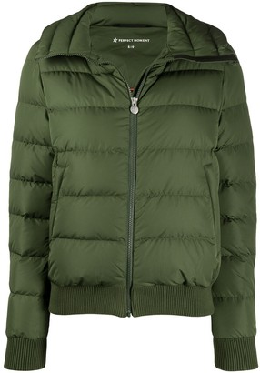 Perfect Moment Rear Star Motif Padded Jacket