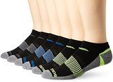 Saucony Men's 6 Pack Competition Arch Support and Smooth Toe Seam Low Cut Socks