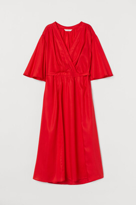 H&M Lyocell Dress - Red