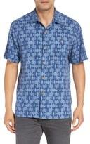 Tommy Bahama 'Ikat Island' Original Fit Silk Camp Shirt
