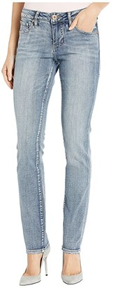 Jag Jeans Gretchen Straight Jeans in Saginaw Blue (Saginaw Blue) Women's Jeans
