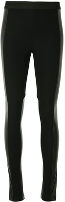 BCBGMAXAZRIA Panelled Full-Length Leggings