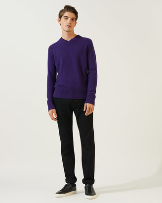 Jigsaw Cashmere V-neck Jumper