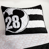 Disney Mickey Mouse 28 Varsity Sham by Ethan Allen
