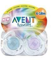 Avent Naturally Pacifier Translucent Toddler S 6-18mo by Philips