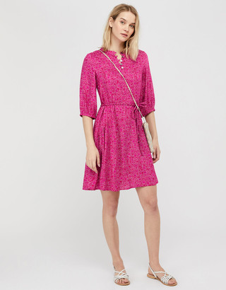 Under Armour Manilla Printed Dress in LENZING ECOVERO Pink