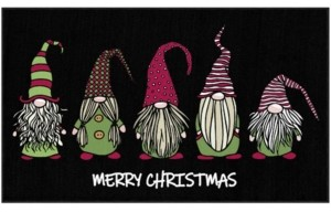 """Mohawk Christmas Gnomes Accent Rug, 30"""" x 50"""" Bedding"""