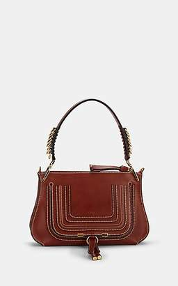 Chloé Women's Marcie Leather Saddle Bag - Brown
