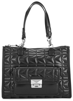 Karl Lagerfeld Women's K/Kuilted Tote Bag Black