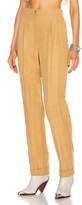 Alberta Ferretti Tailored Pant in Beige | FWRD