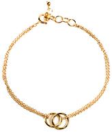 Dogeared Friendship Linked Rings Charm Reminder Bracelet