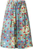 Comme des Garcons printed skirt