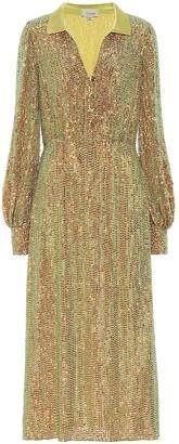 Temperley London Constellation sequined dress