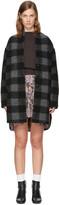 Etoile Isabel Marant Grey Gino Blanket Coat