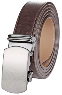 Mio Marino Men's Crafted Leather Ratchet Belts