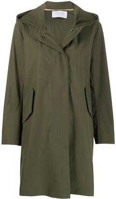 Harris Wharf London Fishtale Hooded Parka Coat