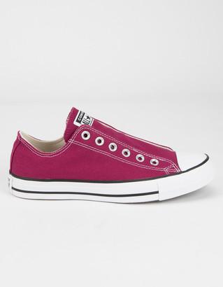 Converse Seasonal Chuck Taylor All Star Womens Slip On Shoes