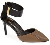 Dolce Vita Leather Ankle Strap d'Orsay Pump