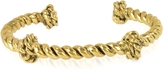 Aurelie Bidermann Palazzo Gold Plated Rope Bracelet