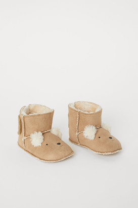 H&M Pile-lined slippers