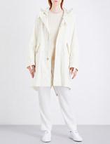 Helmut Lang Re-Edition hooded brushed-cotton parka coat