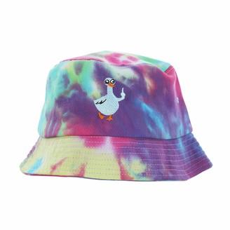 Pavilion Gift Company Duck Humorous Tie Dye Adult Bucket Hat