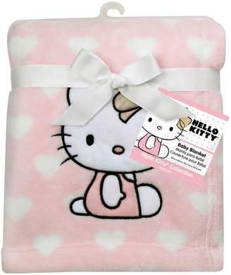 Lambs & Ivy Hello Kitty Plush Baby Blanket
