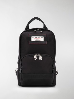 Givenchy mini Downtown logo patch backpack
