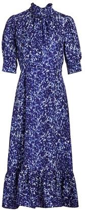 Sea Celine Puff-Sleeve Dress