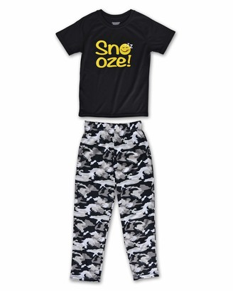 Joe Boxer Boys Camo Tee and Pant Set