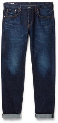 Edwin Regular Slim-Fit Distressed Selvedge Denim Jeans
