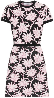 Valentino intarsia-knit dress