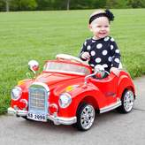 Lil Rider Lil' Rider Cruisin' Coupe Classic Car Ride-On with Remote