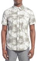 Tavik 'Shin' Regular Fit Short Sleeve Print Woven Shirt
