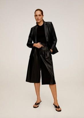 MANGO Pockets structured blazer black - XS - Women