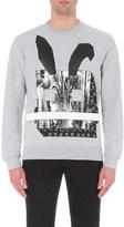 McQ by Alexander McQueen Bunny cotton-jersey sweatshirt
