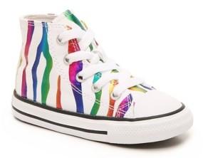 Converse Chuck Taylor All Star Rainbow Zebra High-Top Sneaker - Kids'