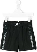 Calvin Klein Kids printed swim shorts