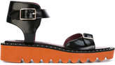 Stella McCartney studded sandals - women - Polyurethane/rubber - 35