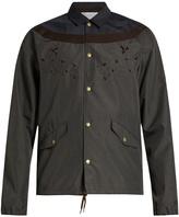 Kolor Lightweight embroidered bomber jacket