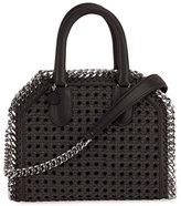 Stella McCartney Wicker Falabella Tote Bag, Black