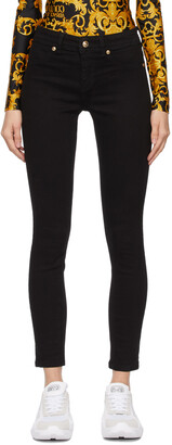 Versace Jeans Couture Black Leggings Jeans