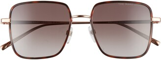 Marc Jacobs 51mm Gradient Square Sunglasses