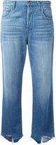 J Brand 'Ivy' high rise cropped jeans - women - Cotton - 24